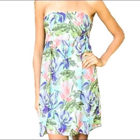 3061d7ca1b8 Urban Outfitters Dresses | Kimchi Blue Hi Lo Strapless Dress | Poshmark
